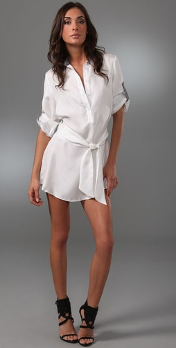Thayer Silk Shirtdress