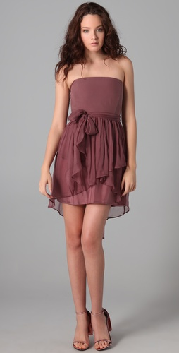 Thayer Short Fiesta Strapless Dress
