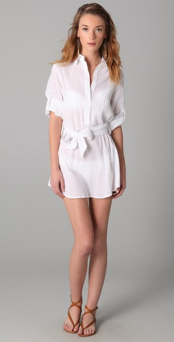 Thayer Shirtdress Cover Up