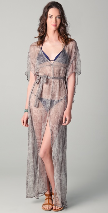 Thayer Jak Cover Up Maxi Dress