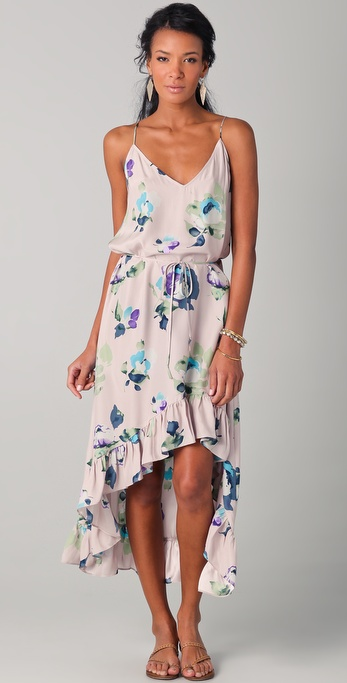 Thayer Wild One Floral Maxi Dress