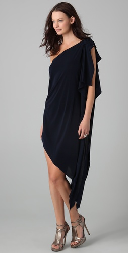 Thayer One Shoulder Goddess Dress