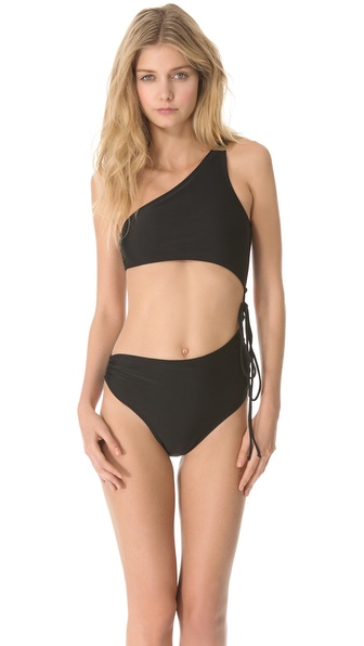 Thayer Side Tie Bikini Swimsuit
