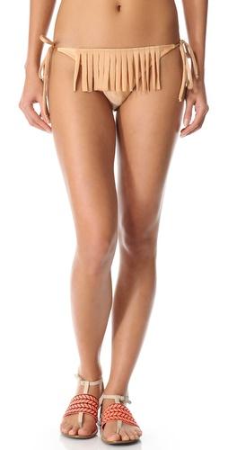 Thayer Fringe String Bikini Bottoms