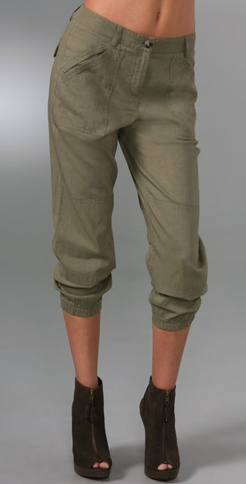 Theory Malinda Cropped Pants
