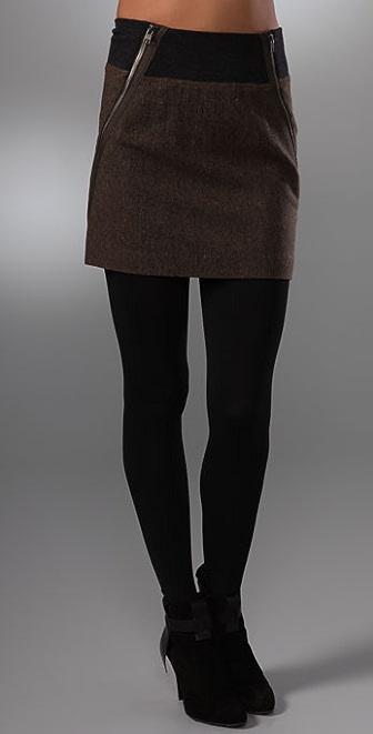 Theory Gretchyn Stretch Tweed Skirt