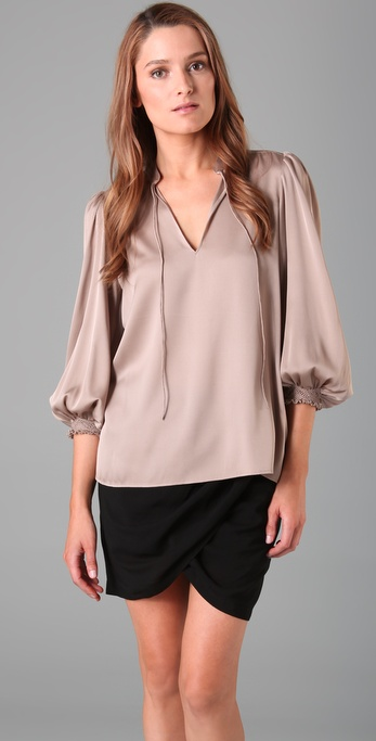Theory Hilda Blouse