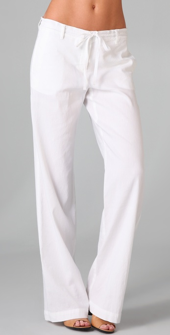 Theory Kernie Linen Pants
