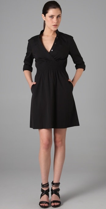 Theory Linnie Shirtdress