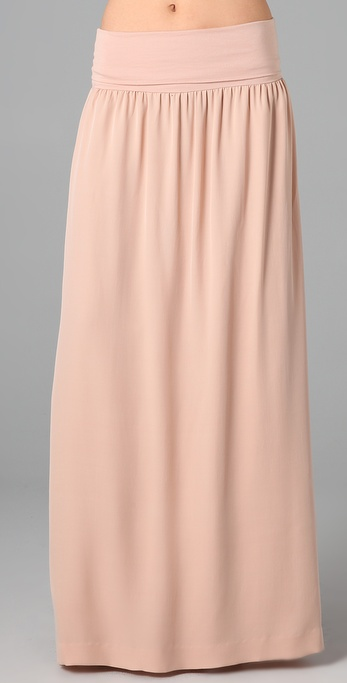Theory Callian C Long Skirt