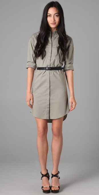 Theory Meliba Shirtdress