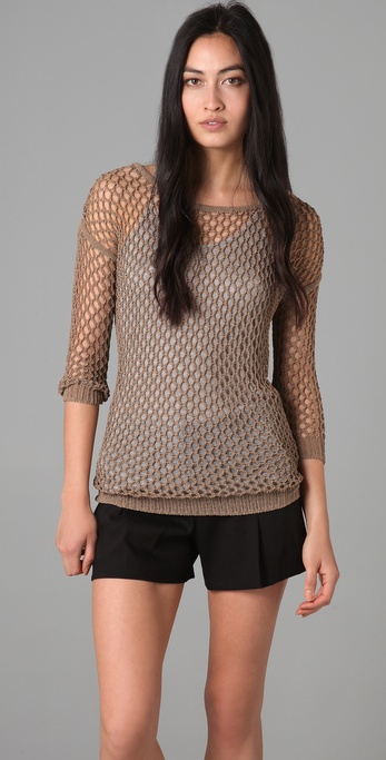 Theory Tarana Sweater