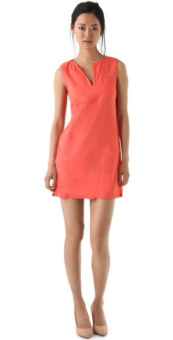 Theory Wandu Crunch Dress