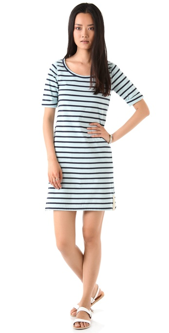 Theory Evolita Sailor Stripe Dress