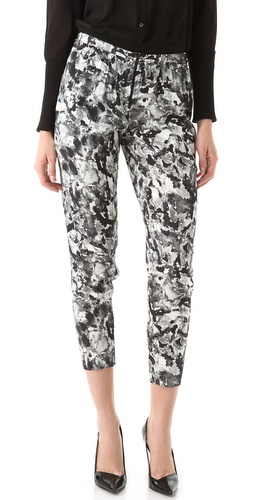 Theory Lucienne Perplexing Print Pants