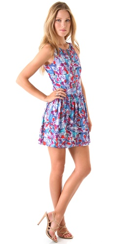 Theory Achi Perplexing Print Dress