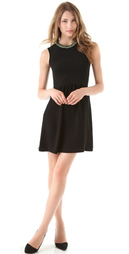 Theory Alvery Vamp Dress