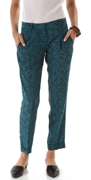 Theory Latani B Abstract Pants
