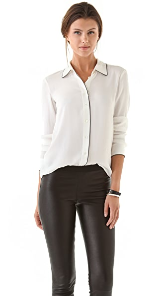 Theory Cully Cicero Blouse