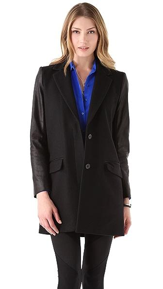 Theory Bindra C Wool Coat