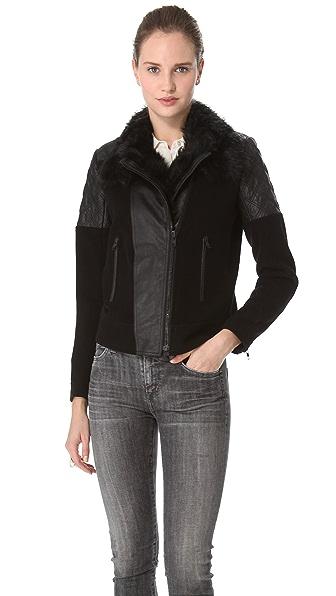 Theory Marini Textured Hide Jacket