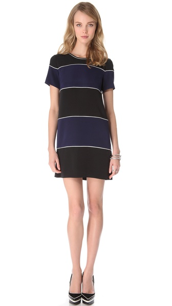 Theory Bailou Basque Dress