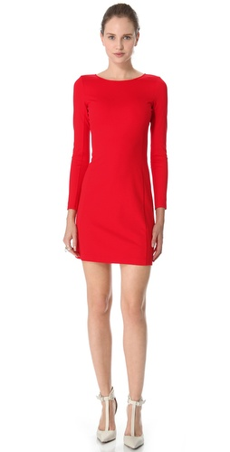 Valentine's Day Gift Guide - Theory Kalion Pryor Dress in Red