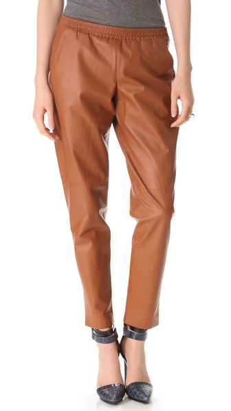 Theory Katla Leather Pants