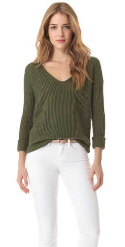 Theory Dafna Pullover Sweater at Shopbop.com