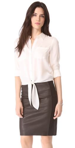 Theory Orencia Blouse at Shopbop.com