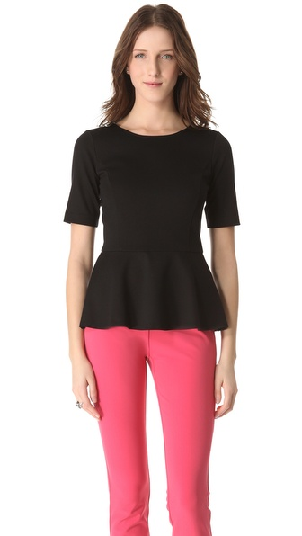 Theory Defta Peplum Top