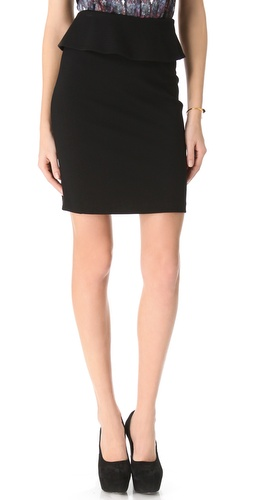 Theory Vantia Peplum Skirt at Shopbop.com