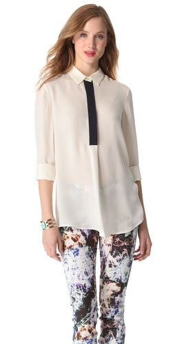 Theory Tenzin P Blouse at Shopbop.com