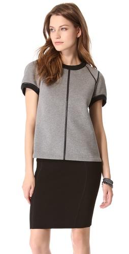 Kupi Theory Lomy Reversible Top i Theory haljine online u Apparel, Womens, Tops, Tee,  prodavnici online