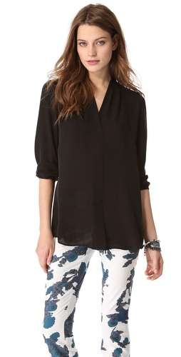 Theory Helona Blouse at Shopbop / East Dane