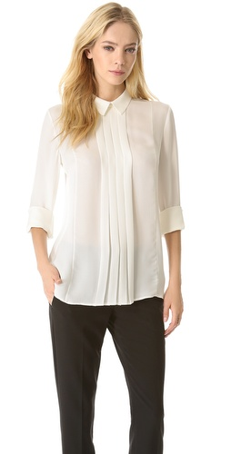 Theory Forta Long Sleeve Blouse at Shopbop / East Dane