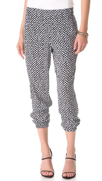 Theory Persha Draped Pants