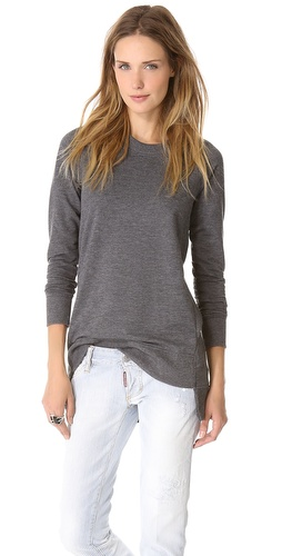 Theory Janelo Long Sweatshirt at Shopbop / East Dane