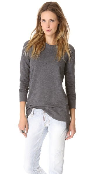 Theory Janelo Long Sweatshirt