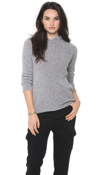Theory Roseree Boucle Hoodie