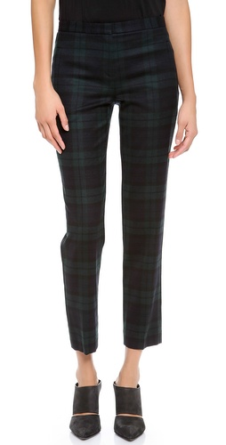 Theory Fia Plaid Pants at Shopbop / East Dane