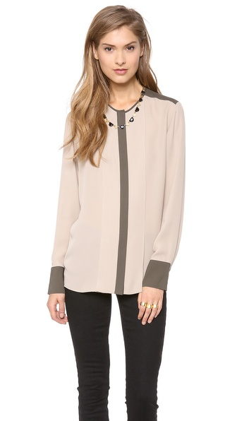Theory Edera CC Blouse