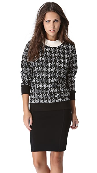 Theory Juneau C Paces Pullover