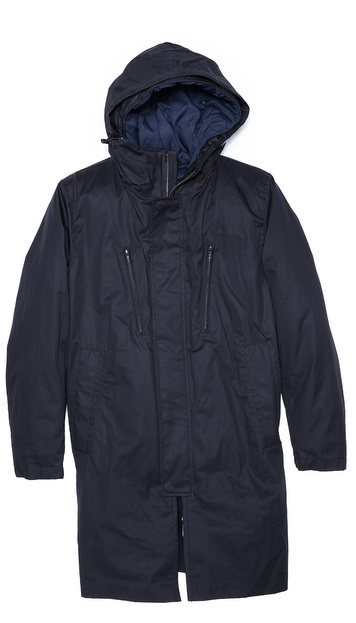 Theory Yver Belgrade 3-in-1 Parka