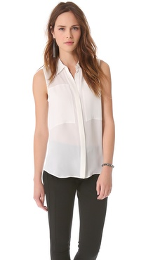 Theory Duria Sleeveless Top