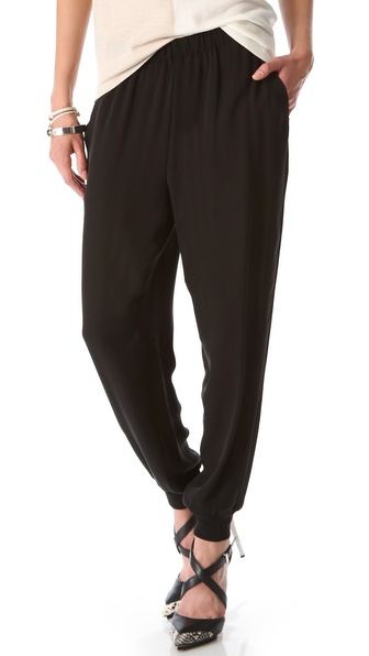 Theory Arai Silk Pants