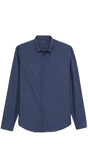 Theory Stephan Jacquard Sport Shirt