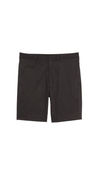 Theory Adelmar Micro Stripe Shorts