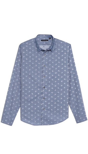 Theory Stephan Dress Shirt