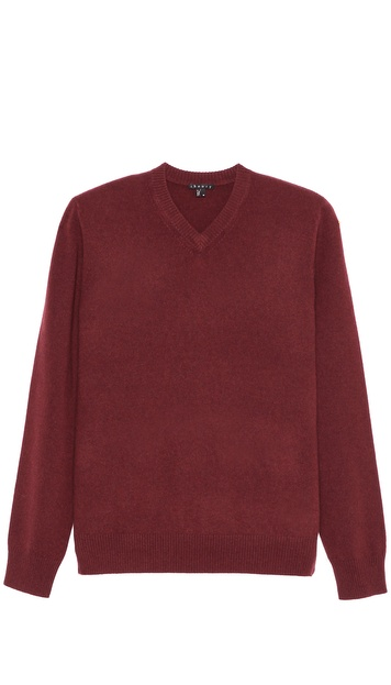 Theory Riland VT Cashmere V Neck Sweater